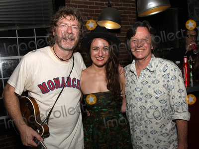 The Nitty Gritty Dirt Band Photo - July 26 2011 - Nashville TN - (l-r) Award-winning Bluegrass artist Sam Bush newcomer Alyssa Bonagura and Jeff Hanna of the Nitty Gritty Dirt Band Artists musicians and songwriters came together at Mercy Lounge to help raise funds for Pete Huttlinger a widely respected guitarist and Nashville studio artist  Huttlinger has a congenital heart disease and is in need of a heart transplant Photo credit Dan HarrAdmedia