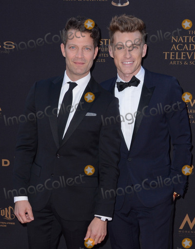 Jeremiah Brent Photo - 29 April 2016 - Los Angeles California - Nate Berkis Jeremiah Brent Arrivals for the 43rd Annual Daytime Creative Arts Emmy Awards held at the Westin Bonaventure Hotel and Suites Photo Credit Birdie ThompsonAdMedia