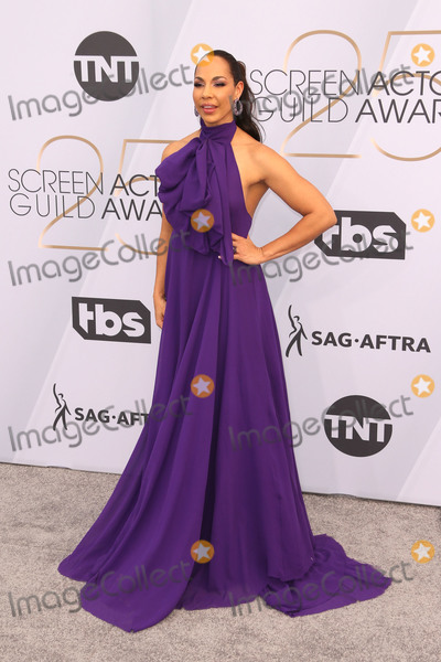 Amanda Brugel Photo - 27 January 2019 - Los Angeles California - Amanda Brugel 25th Annual Screen Actors Guild Awards held at The Shrine Auditorium Photo Credit Faye SadouAdMedia