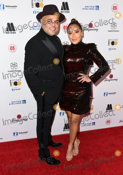 Adrienne Houghton Photo - 30 November 2018 - Beverly Hills California - Israel Houghton Adrienne Houghton 2018 Ebony Power 100 Gala held at The Beverly Hilton Hotel Photo Credit Birdie ThompsonAdMedia