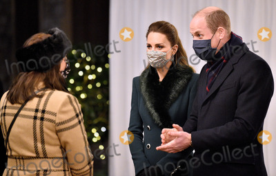 Queen Elizabeth II Photo - 8th December 2020 - Prince William Duke of Cambridge Queen Elizabeth II Prince Charles Prince of Wales during an event to thank local volunteers and key workers for the work they are doing during the coronavirus pandemic and over Christmas in the quadrangle of Windsor Castle in Windsor Berkshire Photo Credit ALPRAdMedia