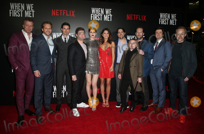Adam DeVine Photo - 20 February 2018 - Hollywood California - McG Ari Sandel Robbie Amell Adam Devine Alexandra Daddario Shelley Hennig Noureen DeWulf John Whittington Steve Eddy Adam Saunders Special Screening of Netflix When We First Met held at Arclight Hollywood Photo Credit F SadouAdMedia