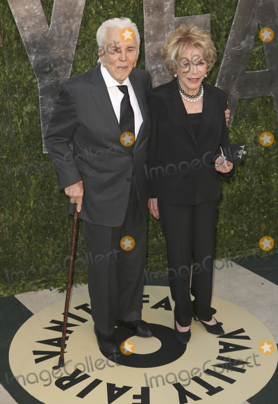 Anne Buydens Photo - 24 February 2013 - West Hollywood California - Kirk Douglas Anne Buydens 2013 Vanity Fair Oscar Party following the 85th Academy Awards held at the Sunset Tower Hotel Photo Credit DowlingStarlitePicsAdMedia