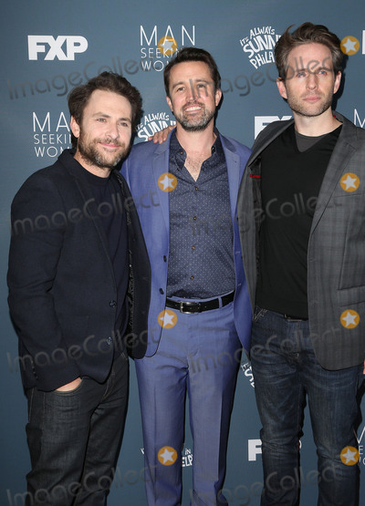 Charlie Day Photo - 03 January 2017 - Los Angeles California - Charlie Day Rob McElhenney Glenn Howerton Premiere Of FXX Its Always Sunny In Philadelphia Season 12 And Man Seeking Woman Season 3 held at Fox Bruin Theatre Photo Credit F SadouAdMedia