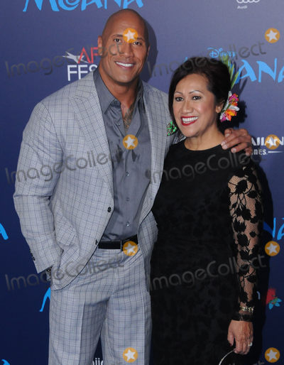 Ata Johnson Photo - 14 November 2016 - Hollywood California Dwayne Johnson Ata Johnson AFI FEST 2016 Presented By Audi - Premiere Of Disneys Moana held at TCL Chinese Theater Photo Credit Birdie ThompsonAdMedia