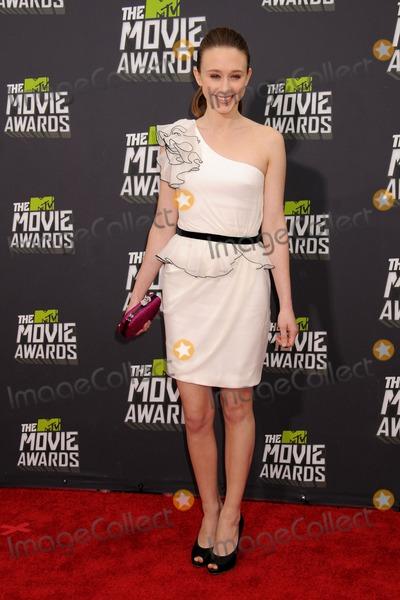 Taissa Farmiga Photo - 14 April 2013 - Culver City California - Taissa Farmiga 2013 MTV Movie Awards - Arrivals held at Sony Pictures Studios Photo Credit Byron PurvisAdMedia