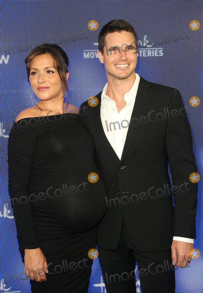 Amel Photo - 26 July 2019 - Beverly Hills California - Italia Ricci Robbie Amell Hallmark Channel And Hallmark Movies  Mysteries Summer 2019 TCA Press Tour Event held at Private Residence Photo Credit FSadouAdMedia