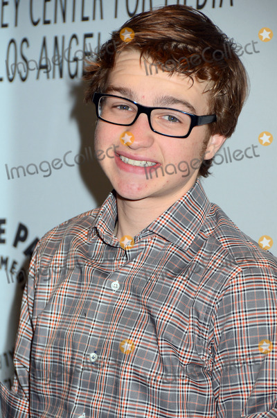 Angus T Jones Photo - 12 March 2012 - Beverly HIlls California - Angus T Jones The Paley Center for Media Honors Two and a Half Men  at PaleyFest 2012 held at the Saban Theatre Photo Credit Birdie ThompsonAdMedia