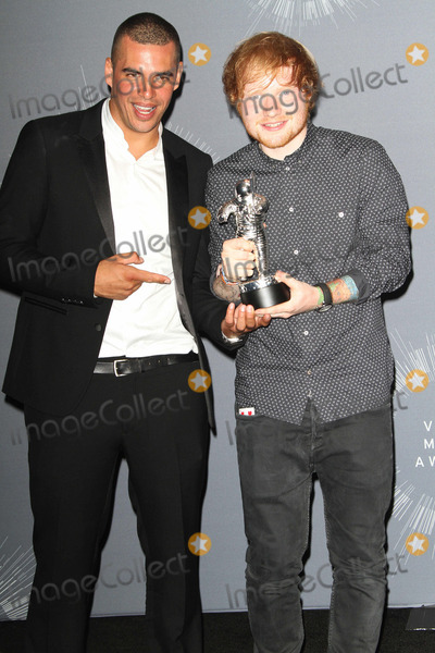 Ed Sheeran Photo - 24 August  2014 - Inglewood California - Emil Nava and Ed Sheeran 2014 MTV Video Music Awards held at The Forum Photo Credit AdMedia