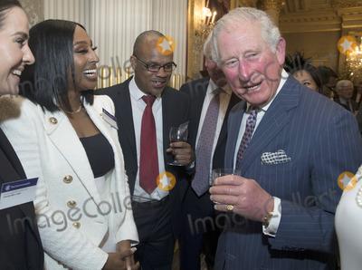 Alexandra Burke Photo - 09032020 - Prince Charles Prince of Wales with Alexandra Burke at the Commonwealth Day Reception at Marlborough House  in London Photo Credit ALPRAdMedia