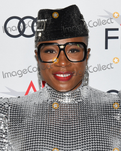 Aisha Hinds Photo - 14 November 2019 - Hollywood California - Aisha Hinds AFI FEST 2019 Presented By Audi  Queen  Slim Premiere held at TCL Chinese Theatre Photo Credit Billy BennightAdMedia