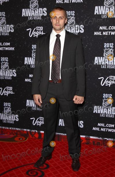 Jaroslav Halak Photo - 20 June 2012 - Las Vegas Nevada - Jaroslav Halak 2012 NHL Awards at the Encore Theater at the Wynn Las VegasPhoto Credit MJTAdMedia