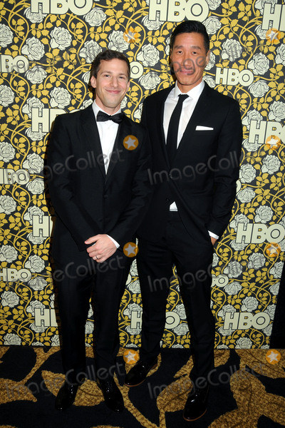 Chester Tam Photo - 10 January 2016 - Beverly Hills California - Andy Samberg Chester Tam HBO 2016 Golden Globe Awards After Party held at Circa 55 Photo Credit Byron PurvisAdMedia