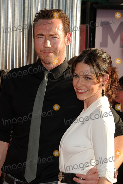 Kevin Durand Photo - 2 October 2011 - Universal City California - Kevin Durand and Evangeline Lilly Real Steel Los Angeles Premiere held at Universal Gibson Amphitheatre Photo Credit Byron PurvisAdMedia