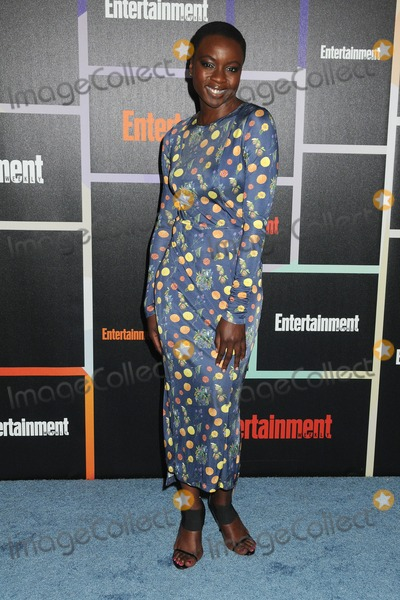 Danai Gurira Photo - 26 July 2014 - San Diego California - Danai Gurira Entertainment Weeklys Annual Comic-Con Celebration 2014 held at Float Lounge at the Hard Rock Hotel Photo Credit Byron PurvisAdMedia