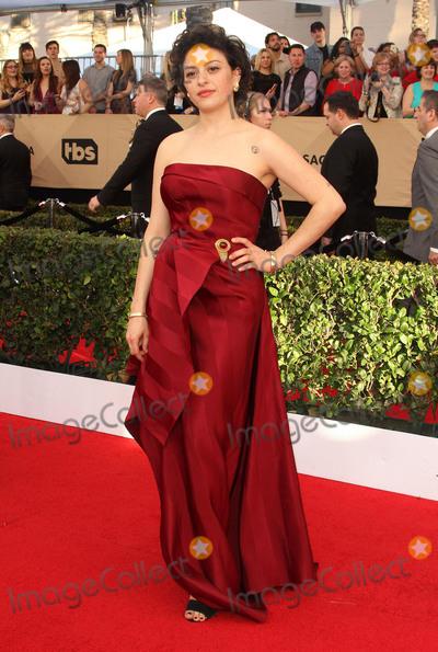 Alias Photo - 29 January 2017 - Los Angeles California - Alia Shawkat 23rd Annual Screen Actors Guild Awards held at The Shrine Expo Hall Photo Credit AdMedia