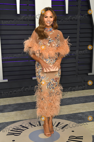 Chrissy Teigen Photo - 24 February 2019 - Los Angeles California - Chrissy Teigen 2019 Vanity Fair Oscar Party following the 91st Academy Awards held at the Wallis Annenberg Center for the Performing Arts Photo Credit Birdie ThompsonAdMedia