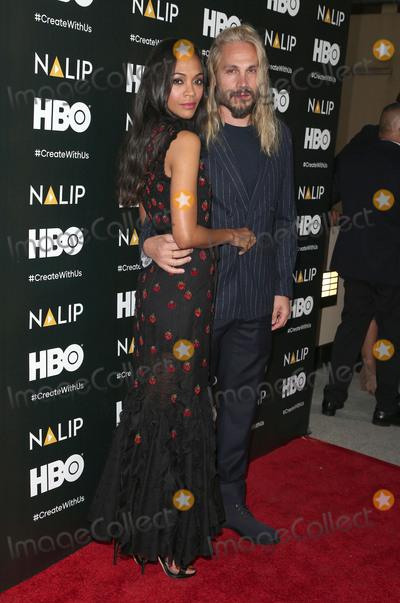 Zoe Saldana Photo - 24 June 2017 - Hollywood California - Marco Perego Zoe Saldana 2017 NALIP Latino Media Awards held at W Hollywood Photo Credit F SadouAdMedia