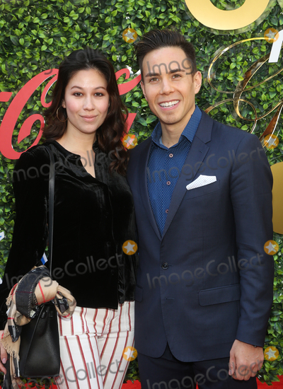 Apolo Anton Ohno Photo - 4 January 2020 - Beverly Hills California - Bianca Stam and Apolo Anton Ohno the 7th Annual Gold Meets Golden Brunch  held at Virginia Robinson Gardens and Estate Photo Credit FSAdMedia