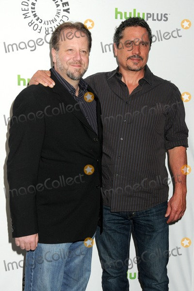 Andrew Marlowe Photo - 9 March 2012 - Beverly Hills California - Andrew Marlowe Rob Bowman PaleyFest 2012 Presents Castle held at The Saban Theatre Photo Credit Byron PurvisAdMedia
