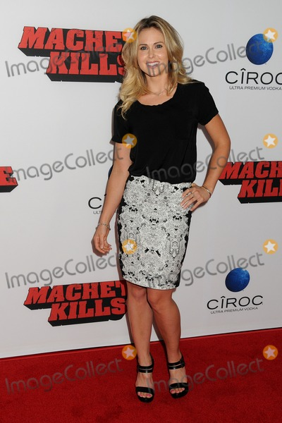Anna Hutchison Photo - 02 October 2013 - Los Angeles California - Anna Hutchison Machete Kills Los Angeles Premiere held at Regal Cinemas LA Live Photo Credit Byron PurvisAdMedia
