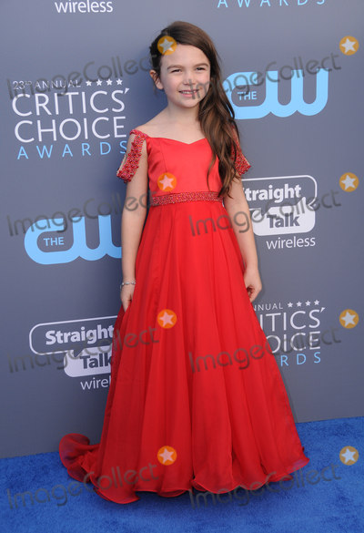 Prince Photo - 11 January 2018 - Santa Monica California - Brooklynn Prince 23rd Annual Critics Choice Awards held at Barker Hangar Photo Credit Birdie ThompsonAdMedia