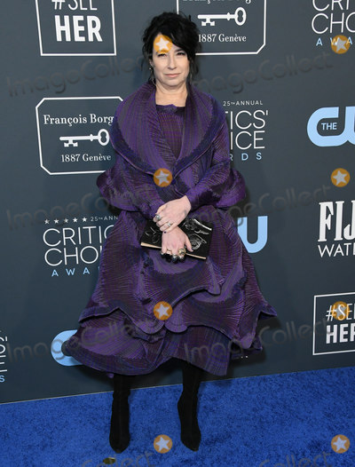 Amy Sherman-Palladino Photo - 12 January 2020 - Santa Monica California - Amy Sherman-Palladino 25th Annual Criticis Choice Awards - Arrivals held at Barker Hangar Photo Credit Birdie ThompsonAdMedia
