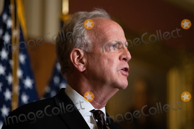 Supreme Court Photo - Senator Jerry Moran R-KS speaks during a press conference after President Trumps Supreme Court nominee Judge Amy Coney Barrett was confirmed by the Senate as the 115th justice to the Supreme Court on Capitol Hill Monday October 26th 2020AdMedia