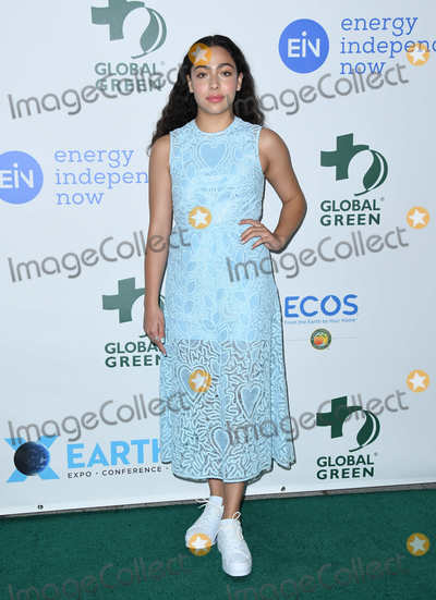 Allegra Acosta Photo - 28 February 2018 - Hollywood California - Allegra Acosta 15th Annual Global Green Pre-Oscar Gala held at NeueHouse Photo Credit Birdie ThompsonAdMedia