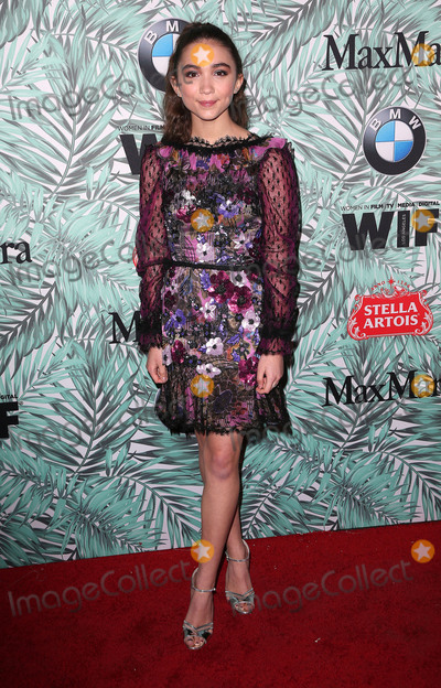 Rowan Blanchard Photo - 24 February 2017 - Los Angeles California - Rowan Blanchard 10th Annual Women In Film Pre-Oscar Cocktail Party held at Nightingale Plaza Photo Credit AdMedia