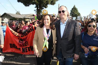 Martin Luther King Photo - 15 January 2018 - Los Angeles California - Senator Kamala Harris Douglas Emhoff Martin Luther King Jr Kingdom Day Parade  VIP Breakfast Photo Credit F SadouAdMedia