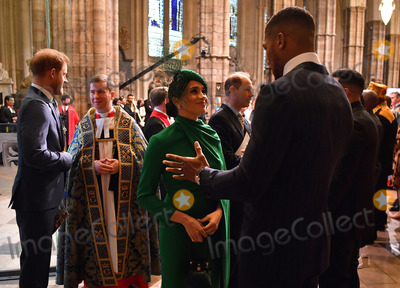 Anthony Joshua Photo - 09032020 - Prince Harry Duke of Sussex Meghan Markle Duchess Of Sussex Prince Edward Earl Of Wessex and  Anthony Joshua Commonwealth Day 2020 Service at Westminster Abbey in London Photo Credit ALPRAdMedia