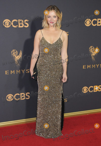 Abby Elliott Photo - 17 September  2017 - Los Angeles California - Abby Elliott 69th Annual Primetime Emmy Awards - Arrivals held at Microsoft Theater in Los Angeles Photo Credit Birdie ThompsonAdMedia