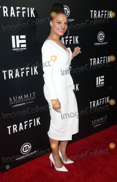 Antonique Smith Photo - 19 April 2018 - Hollywood California - Antonique Smith Traffik Los Angeles Premiere held at ArcLight Hollywood Photo Credit F SadouAdMedia