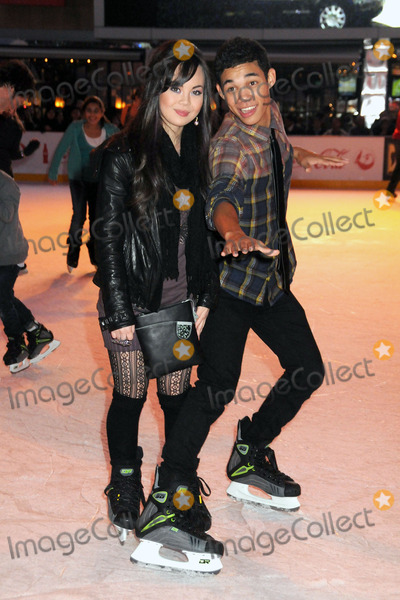 Anna Maria Perez de Tagle Photo - 15 December 2010 - Los Angeles California - Anna Maria Perez de Tagle and Roshon Fegan Disney On Ice presents Lets Celebrate held at LA LIVE Photo Byron PurvisAdMedia