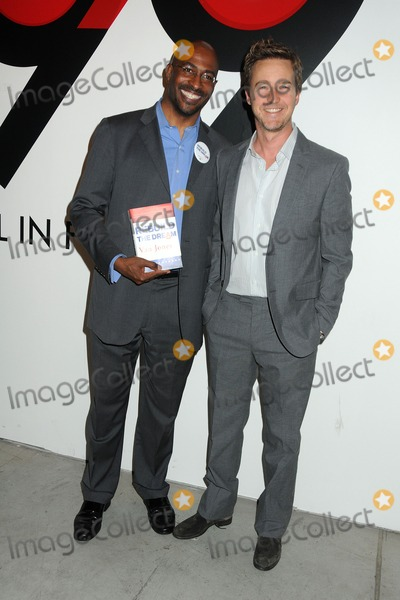 Van Jones Photo - 31 March 2012 - Los Angeles California - Van Jones Edward Norton All In For The 99 Event hosted by Van Jones Rebuild The Dream and MoveOnorg held at 400 S La Brea Photo Credit Byron PurvisAdMedia