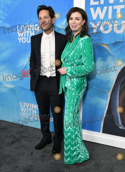 Aisling Bea Photo - 16 October 2019 - Hollywood California - Paul Rudd Aisling Bea Netflixs Living With Yourself Season 1 Los Angeles Premiere held at the Arclight Hollywood Photo Credit Birdie ThompsonAdMedia