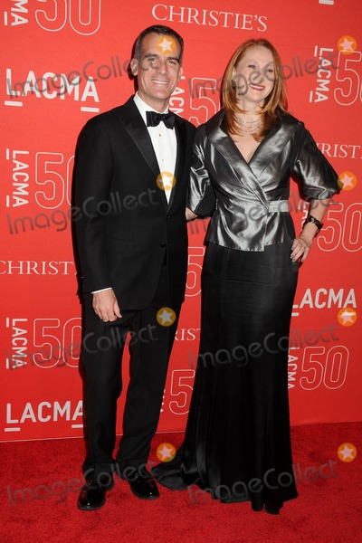 Amy Wakeland Photo - 18 April 2015 - Los Angeles California - Eric Garcetti Amy Wakeland LACMA 50th Anniversary Gala held at LACMA Photo Credit Byron PurvisAdMedia