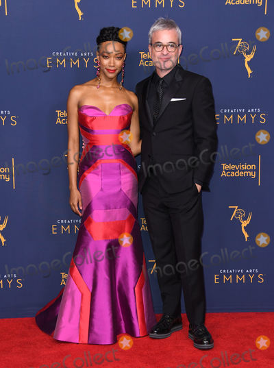 Alex Kurtzman Photo - 08 September 2018 - Los Angeles California - Sonequa Martin-Green Alex Kurtzman 2018 Creative Arts Emmys Awards - Press Room held at Microsoft Theater Photo Credit Birdie ThompsonAdMedia