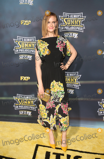 Emily Deschanel Photo - 24 September 2019 - Hollywood California - Emily Deschanel The Premiere Of FXs Its Always Sunny In Philadelphia Season 14  held at TCL Chinese Theatre Photo Credit FSadouAdMedia