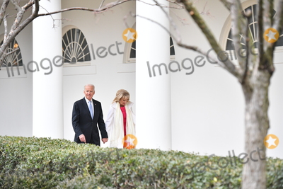 Jill Biden Photo - Vice President Joe Biden and Dr Jill Biden leaves the White House for the final time as the nation prepares for the inauguration of President-elect Donald Trump on January 20 2017 in Washington DC  Trump becomes the 45th President of the United States Photo Credit Kevin DietschCNPAdMedia