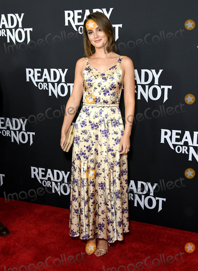 Leighton Meester Photo - 19 August 2019 - Culver City California - Leighton Meester Fox Searchlights Ready Or Not Los Angeles Screening held at Arclight Culver City Photo Credit Birdie ThompsonAdMedia