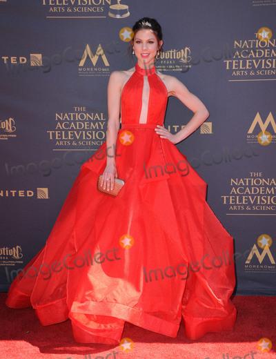 Kate Mansi Photo - 30 April 2017 - Pasadena California - Kate Mansi 44th Annual Daytime Emmy Awards held at Pasadena Civic Centerin Pasadena Photo Credit Birdie ThompsonAdMedia