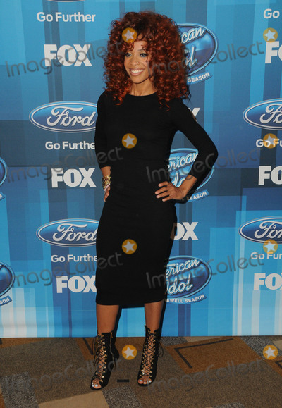 Tamyra Gray Photo - 07 April 2016 - Hollywood California - Tamyra Gray Arrivals for FOXs American Idol Finale For The Farewell Season held at The Dolby Theater Photo Credit Birdie ThompsonAdMedia