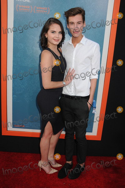 Arden Rose Photo - 3 June 2015 - West Hollywood California - Arden Rose Jack Baran Me And Earl And The Dying Girl Los Angeles Premiere held at the Harmony Gold Theatre Photo Credit Byron PurvisAdMedia
