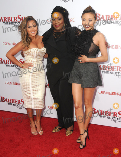 Adrienne Bailon Photo - 06 April 2016 - Hollywood California - Adrienne Bailon Loni Love Jeannie Mai Arrivals for the Los Angeles Premiere of Barbershop The Next Cut held at TCL Chinese Theater Photo Credit Birdie ThompsonAdMedia