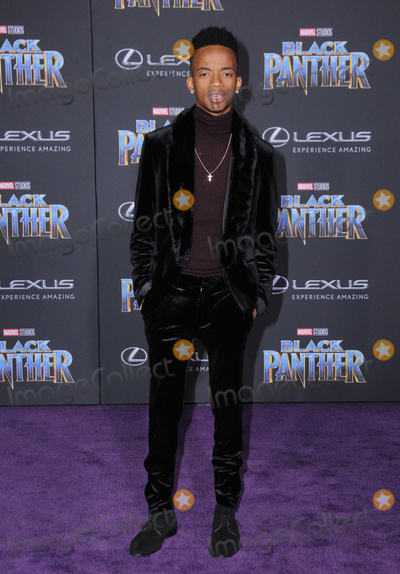 Coy Stewart Photo - 29 January 2018 - Hollywood California - Coy Stewart Marvel Studios Black Panther World Premiere held at Dolby Theater Photo Credit Birdie ThompsonAdMedia