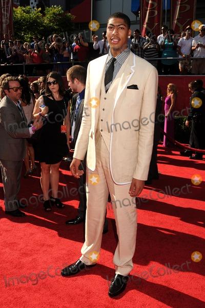 Anthony Davis Photo - 11 July 2012 - Los Angeles California - Anthony Davis 2012 ESPY Awards - Arrivals held at Nokia Theatre LA Live Photo Credit Byron PurvisAdMedia