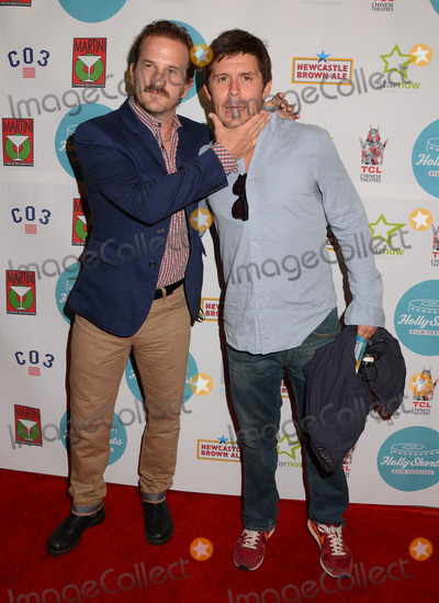 Richard Speight Jr Photo - 17 August 2013 - Hollywood Ca - Richard Speight Jr Rick Gomez HollyShorts Film Festival arrivals at the TCL Chinese Theater in Hollywood Ca Photo Credit BirdieThompsonAdMedia