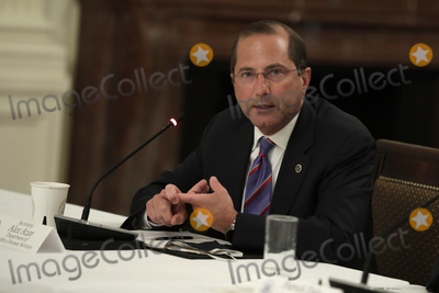 Alex Azar Photo - United States Secretary of Health and Human Services (HHS) Alex Azar participates in a National Dialogue on Safely Reopening Schools at the White House in Washington on July 7 2020 Credit Yuri Gripas  Pool via CNP